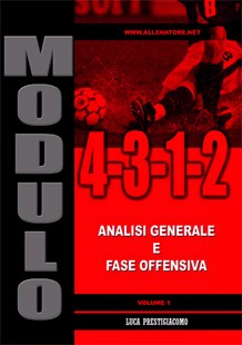 Modulo 4-3-1-2 - vol.1 fase offensiva