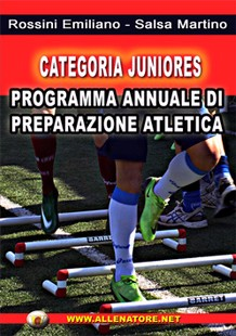 Categoria juniores - programma annuale di preparazione atletica