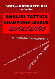 Analisi tattica champions league 2002/2003